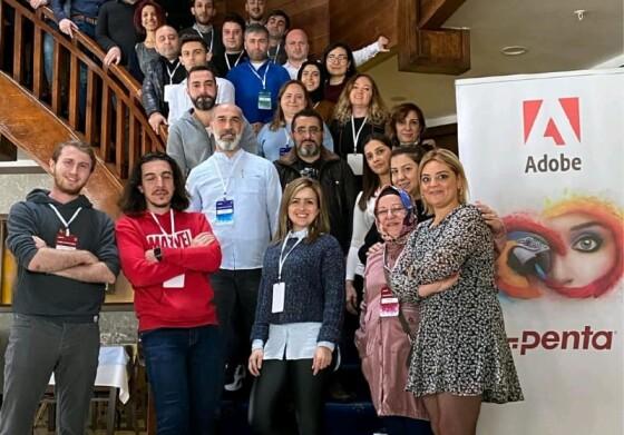 Adobe Creative Camp etkinliği için Düzce'deydık.